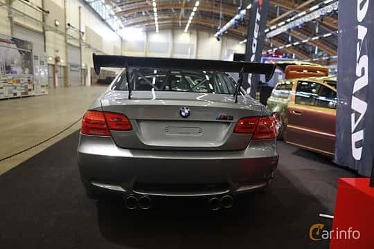 Bak av BMW M3 GT4  Drivelogic, 480ps, 2010 på Bilsport Performance & Custom Motor Show 2019