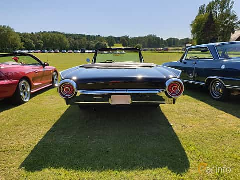Back of Ford Thunderbird Convertible 1963 at Eddys bilträff Billesholm 2019 Tema Opel och Chevrolet
