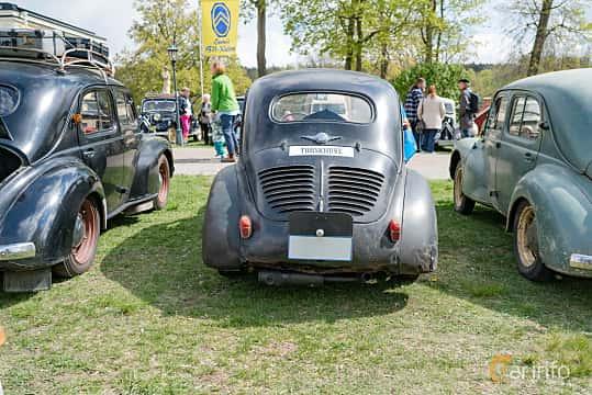Back of Renault 4CV 0.7 Manual, 18ps, 1951 at Fest För Franska Fordon  på Taxinge slott 2019