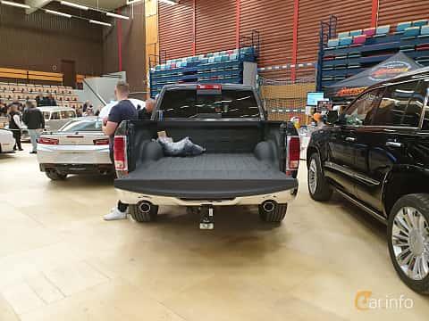 Back of RAM 1500 Crew Cab 5.7 V8 HEMI 4WD TorqueFlite, 396ps, 2018 at Gasonline Mega Swapmeet Katrineholm  2019 Mars