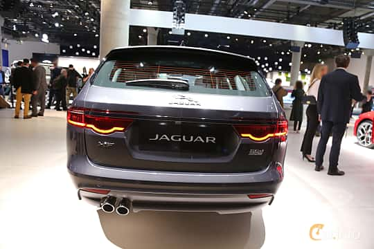 Back of Jaguar XF 20d Sportbrake AWD  Automatic, 180ps, 2020 at IAA 2019