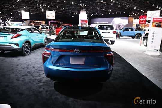 Bak av Toyota Mirai FuelCell Single Speed, 154ps, 2017 på North American International Auto Show 2018