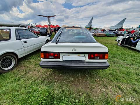 Back of Subaru Leone Coupé 1.8 4WD Automatic, 98ps, 1986 at Old Car Land no.1 2019