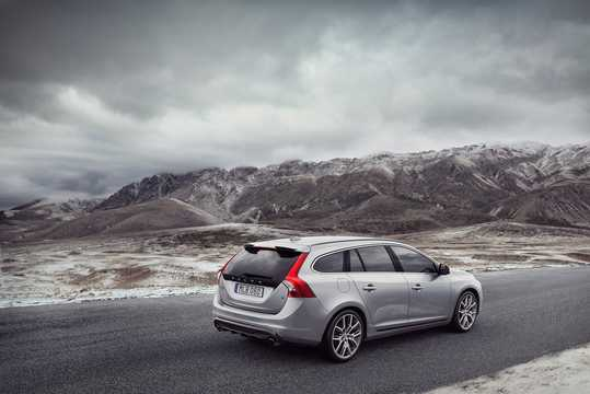Bak/Sida av Volvo V60 2nd Generation