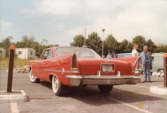 Bak/Sida av Chrysler 300 Hardtop 6.4 V8 Automatic, 386ps, 1958