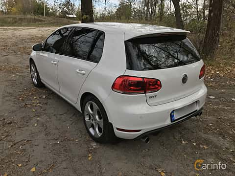 Back/Side of Volkswagen Golf GTI 5-door 2.0 TSI  DSG Sequential, 210ps, 2011