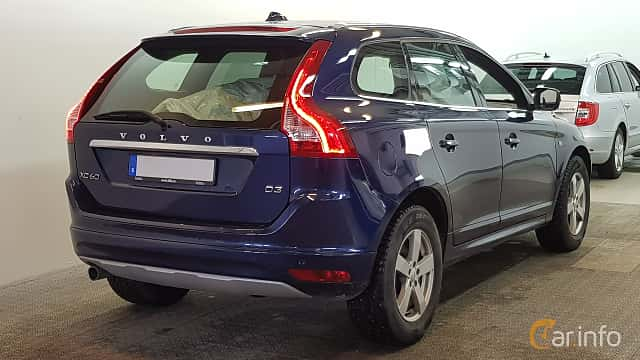 Back/Side of Volvo XC60 2.0 D3 Geartronic, 150ps, 2016
