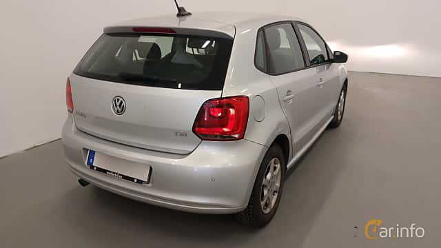 Bak/Sida av Volkswagen Polo 5-door 1.2 TSI BlueMotion Manual, 90ps, 2014