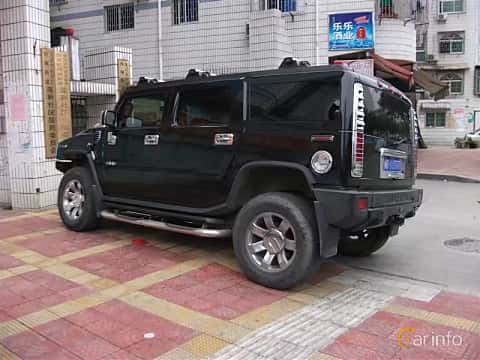 Back/Side of Hummer H3 3.5 Automatic, 223ps, 2005