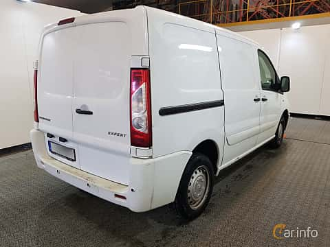 Back/Side of Peugeot Expert Panel Van 2.0 HDi Automatic, 163ps, 2014