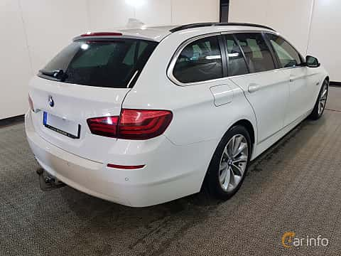 Back/Side of BMW 520d Touring 2.0 Steptronic, 190ps, 2015