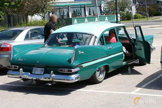 Back/Side of Plymouth Belvedere 4-door Sedan 5.2 V8 TorqueFlite, 233ps, 1959