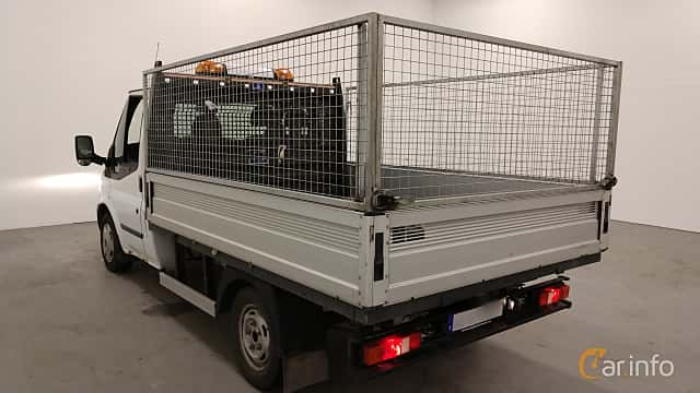 Back/Side of Ford Transit Chassis Cab 2.2 TDCi Manual, 101ps, 2013