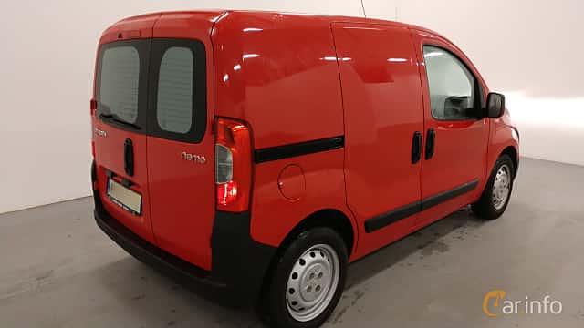 Back/Side of Citroën Nemo Van 1.2 HDi Manual, 75ps, 2013