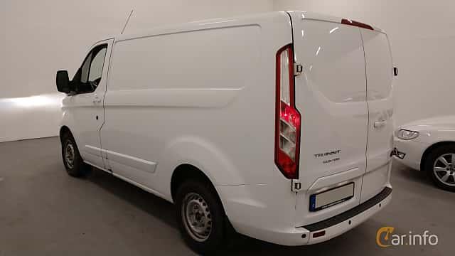 Back/Side of Ford Transit Custom 3-door Van 2.2 TDCi Manual, 125ps, 2014