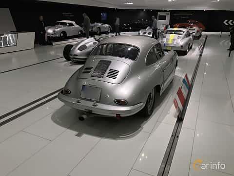 Bak/Sida av Porsche 356 2000 GS Carrera GT 2.0 Manual, 180ps, 1960