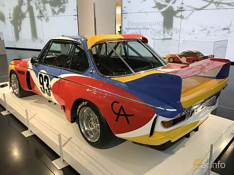 Bak/Sida av BMW 3.0 CSL Group 5  Manual, 487ps, 1975