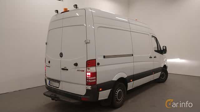 Back/Side of Mercedes-Benz Sprinter 313 CDI Panel Van  Manual, 129ps, 2011