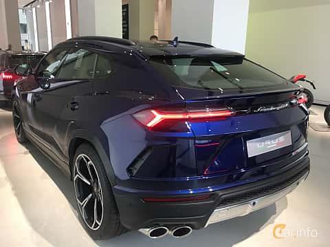 Back/Side of Lamborghini Urus 4.0 V8 AWD Automatic, 650ps, 2019