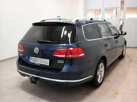 Bak/Sida av Volkswagen Passat Variant 2.0 TDI BlueMotion Manual, 140ps, 2012