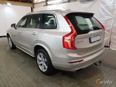 Back/Side of Volvo XC90 T8 AWD Geartronic, 407ps, 2016