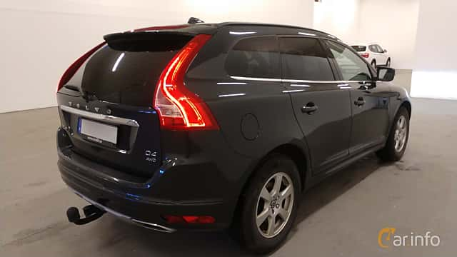 Back/Side of Volvo XC60 D4 AWD Manual, 190ps, 2016