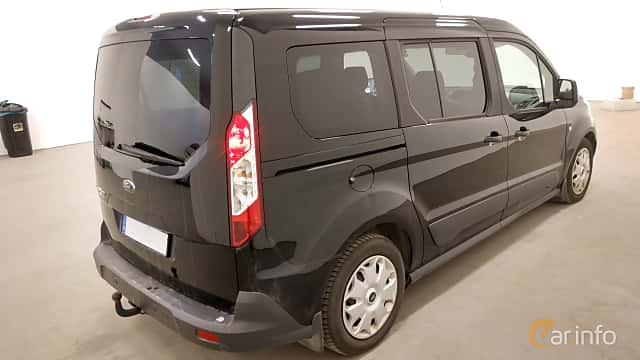 Back/Side of Ford Tourneo Connect LWB 1.5 TDCi SelectShift, 120ps, 2016