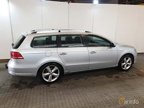 Bak/Sida av Volkswagen Passat Variant 2.0 TDI BlueMotion 4Motion DSG Sequential, 170ps, 2012