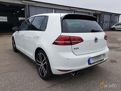 Bak/Sida av Volkswagen Golf GTE 1.4 TSI DSG Sequential, 204ps, 2016