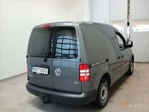 Back/Side of Volkswagen Caddy Panel Van 1.6 TDI Manual, 102ps, 2014