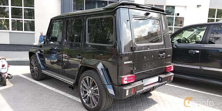 Back/Side of Brabus G 700 B63S  AMG-SpeedShift Plus 7G-Tronic, 700ps, 2014