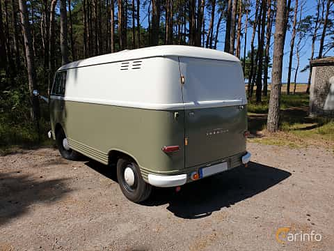 Bak/Sida av Ford Taunus Transit Forerunner 1.2 Manual, 38ps, 1953