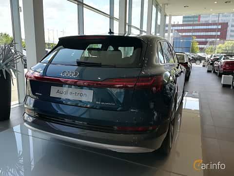 Back/Side of Audi e-tron 55 quattro  Single Speed, 408ps, 2019