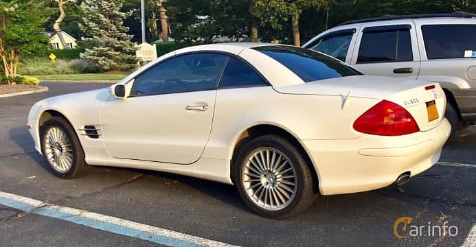 Bak/Sida av Mercedes-Benz SL 500  7G-Tronic, 306ps, 2005