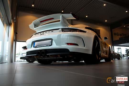 Back/Side of Porsche 911 GT3 3.8 H6 PDK, 475ps, 2016