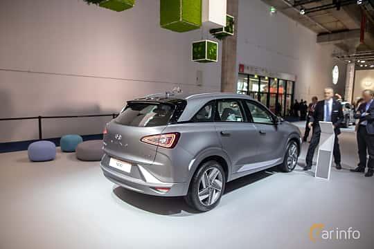 Bak/Sida av Hyundai Nexo FuelCell Single Speed, 163ps, 2020 på IAA 2019