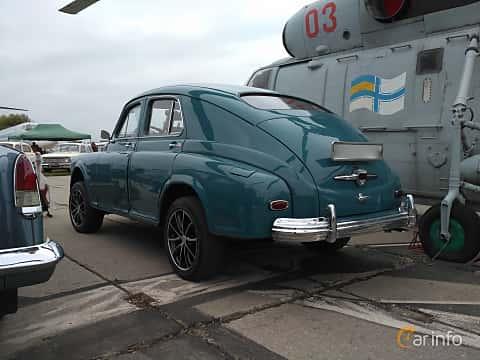 Back/Side of GAZ GAZ-M-20 2.1 Manual, 50ps, 1948 at Old Car Land no.2 2017