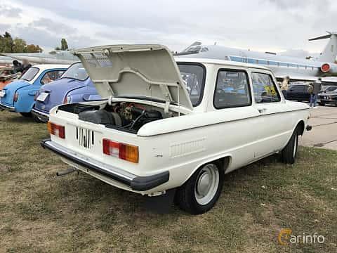 Back/Side of ZAZ 968M 1979 at Old Car Land no.2 2019