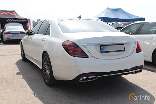 Back/Side of Mercedes-Benz S 350 d  7G-Tronic Plus, 258ps, 2017 at Proudrs Drag racing Poltava 2019
