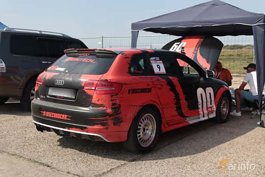 Back/Side of Audi RS 3 Sportback 2.5 TFSI quattro S Tronic, 340ps, 2011 at Proudrs Drag racing Poltava 2019