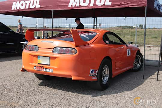 Back/Side of Toyota Supra 1993 at Proudrs Drag racing Poltava 2019