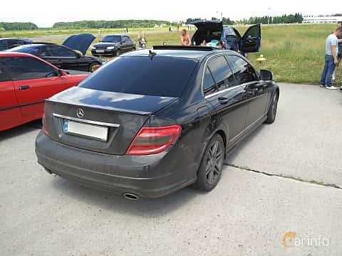 Bak/Sida av Mercedes-Benz C 350 3.5 V6 7G-Tronic, 272ps, 2008 på Ukrainian Drag Series Stage 1 2017