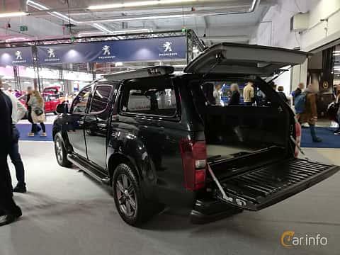 Back/Side of Isuzu D-Max Crew Cab 1.9 4WD Automatic, 163ps, 2018 at Warsawa Motorshow 2018