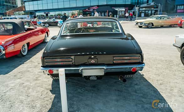 Back of Pontiac Firebird 1967 at Stockholm Vintage & Sports Car meet 2019