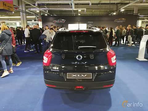 Back of SsangYong Tivoli XLV 1.6 e-GXI Manual, 128ps, 2018 at Warsawa Motorshow 2018
