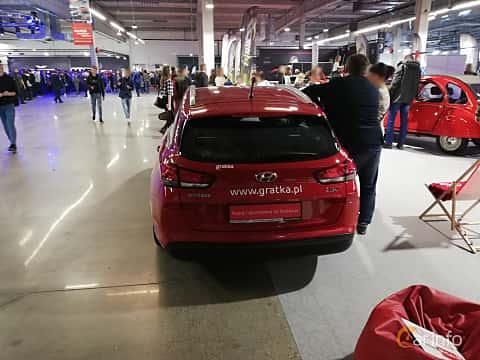 Back of Hyundai i30 Wagon 1.6 CRDi DCT, 110ps, 2018 at Warsawa Motorshow 2018