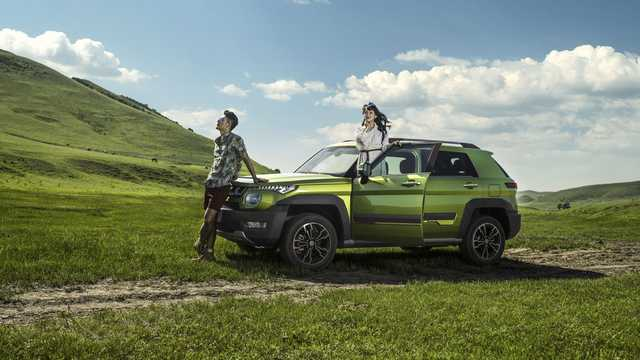 Front/Side  of BAIC BJ20 1st Generation