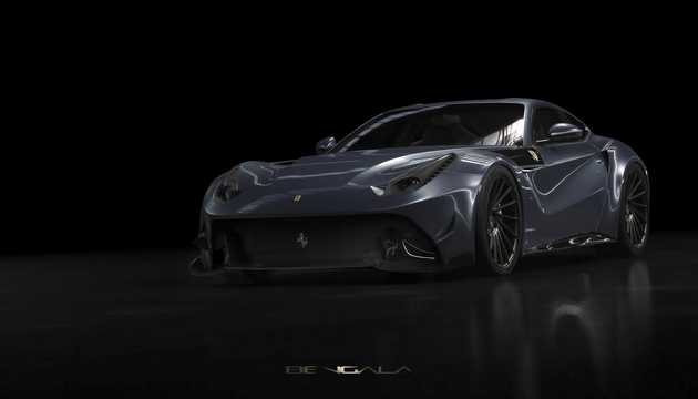 Front/Side  of Bengala F12 Callabería 6.3 V12 DCT, 740hp, 2017
