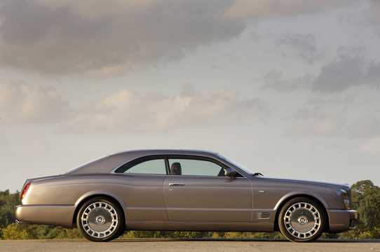Side  of Bentley Brooklands 6.75 V8  Automatic, 537hp, 2008