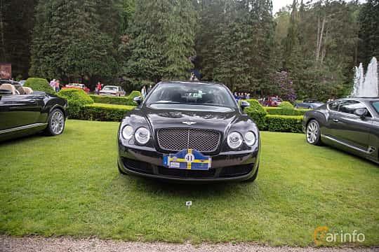 Front  of Bentley Continental Flying Spur 6.0 W12 TipTronic, 560ps, 2007 at Rolls-Royce och Bentley, Norrviken Båstad 2019